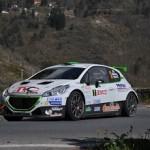 Stefano Albertini, Danilo Fappani (Peugeot 208 R5 #2, Meteco Corse)